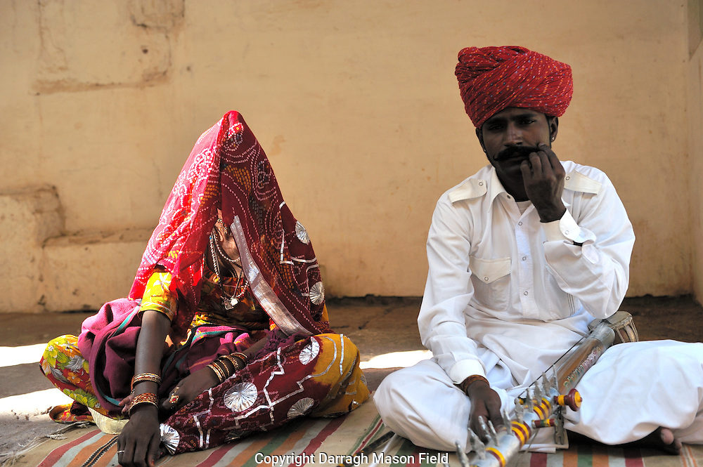 Musician and Singer in the Mehrangarh Fort