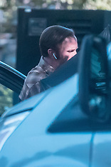 Amy Adams and Christian Bale seen on set of 'Backseat'  - 12 Oct 2017