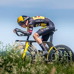EMMEN (NED) June 16: <br />CYCLING <br />Dutch Nationals Time Trail men U23<br />Lou van Belle