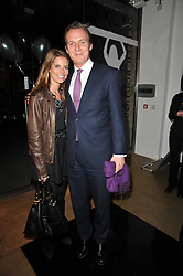 GEORGE & CATHERINE CADBURY at a party to launch pop-up store Oxygen Boutique, 33 Duke of York Square, London SW3 on 8th February 2011.
