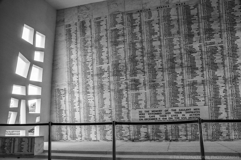 USS Arizona Memorial (Interior)