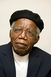 Mar 21, 2013 - FILE - CHINUA ACHEBE born Albert Chinualumogu Achebe, November 16 1930 - March 21, 2013, has died at 82 following a brief illness. Achebe was a Nigerian novelist, poet, professor, and critic. He was best known for his first novel and magnum opus,'Things Fall Apart' (1958), which dealt with the impact of colonialism in Africa, which sold more than 10 million copies. Achebe had been living in the US since 1990 following injuries from a car crash that left him paralyzed from the waist down. PICTURED: Feb 26, 2008 - New York, New York, U.S. - Writer Chinua Achebe (Nigeria/USA). (Credit Image: © Beowulf Sheehan/ZUMAPRESS.com)