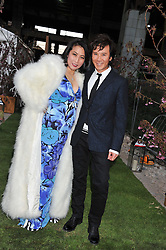 ANY & PATTI WONG at Gabrielle's Gala an annual fundraising evening in aid of Gabrielle's Angel Foundation for Cancer Research held at Battersea Power Station, London on 2nd May 2013.