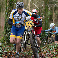 Richard Casey from Burren Cycling club taking part in the Ennis CX Cyclocross Race