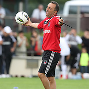 Turkish Soccer Club Besiktas's co trainer Carlos Carvalhal during their at this season's training session in Holland 06 August 2011. Photo by TURKPIX
