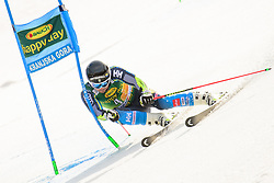 March 9, 2019 - Kranjska Gora, Kranjska Gora, Slovenia - Matts Olsson of Sweden in action during Audi FIS Ski World Cup Vitranc on March 8, 2019 in Kranjska Gora, Slovenia. (Credit Image: © Rok Rakun/Pacific Press via ZUMA Wire)