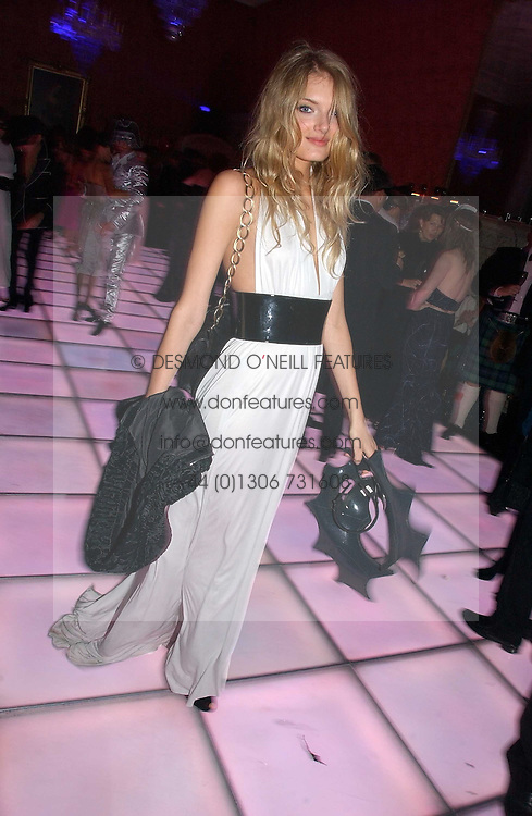 Model LILY DONALDSON at the 2006 Moet & Chandon Fashion Tribute in honour of photographer Nick Knight, held at Strawberry Hill House, Twickenham, Middlesex on 24th October 2006.<br /><br />NON EXCLUSIVE - WORLD RIGHTS
