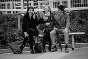 URSULA BLYTH; HENRIETTA NEISH; WILLIAM CARBUTT-TODD, The Cheltenham Festival Ladies Day. Cheltenham Spa. 11 March 2015