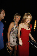 Lady Alexandra Spencer-Churchill and Kim Hersov,  Emporio Armani Red One Night Only. Brompton Hall, Earls Court. London. 21 September 2006.  . ONE TIME USE ONLY - DO NOT ARCHIVE  © Copyright Photograph by Dafydd Jones 66 Stockwell Park Rd. London SW9 0DA Tel 020 7733 0108 www.dafjones.com