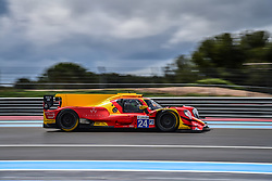 April 13, 2018 - Le Castellet, France - 24 RACING ENGINEERING (ESP) ORECA 07 GIBSON LMP2 NORMAN NATO (FRA) OLIVIER PLA (FRA) PAUL PETIT  (Credit Image: © Panoramic via ZUMA Press)