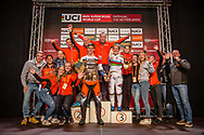 Team Papendal at Round 4 of the 2019 UCI BMX Supercross World Cup in Papendal, The Netherlands