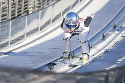 02.03.2021, Oberstdorf, GER, FIS Weltmeisterschaften Ski Nordisch, Oberstdorf 2021, Damen, Skisprung, HS137, Einzelbewerb, Qualifikation, im Bild Ema Klinec (SLO) // Ema Klinec (SLO) during the qualification jump for the women ski Jumping HS137 single competition of FIS Nordic Ski World Championships 2021 Oberstdorf, Germany on 2021/03/02. EXPA Pictures © 2021, PhotoCredit: EXPA/ Tadeusz Mieczynski