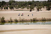 SAND GOLF IN ABU DHABI - Al Ghazal Golf Club - Men's Open Championship