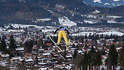 30.01.2016, Normal Hill Indiviual, Oberstdorf, GER, FIS Weltcup Ski Sprung Ladis, Bewerb, im Bild Lara Malsiner (ITA) // Lara Malsiner of Italy during her Competition Jump of FIS Ski Jumping World Cup Ladis at the Normal Hill Indiviual, Oberstdorf, Germany on 2016/01/30. EXPA Pictures © 2016, PhotoCredit: EXPA/ Peter Rinderer