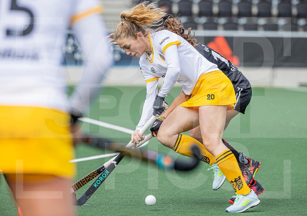 AMSTELVEEN - Laura Nunnink (DenBosch)  tijdens  de hoofdklasse hockey competitiewedstrijd dames, Amsterdam-Den Bosch (0-1)  COPYRIGHT WORLDSPORTPICS KOEN SUYK