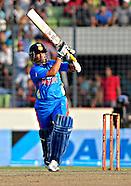 Cricket - Sachin Tendulkar celebrates his 100th International Century