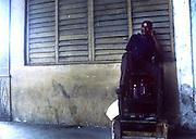 2000 August- Havana, Cuba- ' Shine Man' in Havana, Cuba