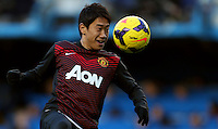 Manchester United's Shinji Kagawa in action during the warm up