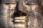 Sri Lanka.<br />  Standing figure of the Buddha, Gal Vihara,.Polonnaruwa.