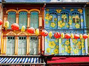 27 DECEMBER 2015 - SINGAPORE, SINGAPORE: Restored traditional shophouses in Singapore's Chinatown district now house restaurants, art galleries and boutique hotels.      PHOTO BY JACK KURTZ