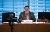 DEU, Deutschland, Germany, Berlin, 23.06.2021: Ansgar Heveling (CDU), Deutscher Bundestag, Konstituierende Sitzung der Kommission zur Reform des Bundeswahlrechts und zur Modernisierung der Parlamentsarbeit.