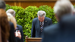 08.07.2016, Historischer Sitzungssaal, Wien, AUT, Parlament, Bundesversammlung zur Verabschiedung des scheidenden Bundespräsidenten Fischer, im Bild der scheidende Bundespraesident von Österreich Heinz Fischer // outgoing Federal President of Austria Heinz Fischer during farewell ceremony for the federal president of austria at austrian parliament in Vienna, Austria on 2016/07/08, EXPA Pictures © 2016, PhotoCredit: EXPA/ Michael Gruber