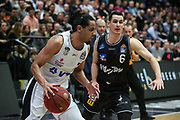 Basketball: 1. Bundesliga, Hamburg Towers - Hakro Merlins Crailsheim 91:92, Hamburg, 29.02.2020<br /> Jorge Gutierrez (Towers)<br /> © Torsten Helmke