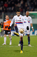 FOOTBALL - FRENCH LEAGUE CUP 2009/2010 - 1/4 FINAL - 27/01/2010 - FC LORIENT v OLYMPIQUE LYONNAIS - PHOTO GUY JEFFROY / DPPI - MAXIME GONALONS (OL)