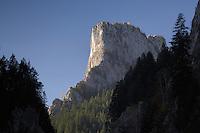 Bicaz Gorges and Piatra Altarului 1147 m, Cheile Bicazului-Hasmas National Park, Carpathians, Transylvania, Romania,