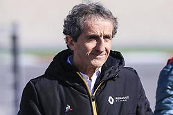 February 18, 2019 - Barcelona, Barcelona, Spain - Alain Prost portrait during the Formula 1 2019 Pre-Season Tests at Circuit de Barcelona - Catalunya in Montmelo, Spain on February 18. (Credit Image: © Xavier Bonilla/NurPhoto via ZUMA Press)