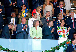 Opening ceremony<br /> World Equestrian Games Jerez de la Fronteira 2002<br /> Photo © Dirk Caremans