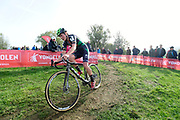 Belgium, November 1 2017:  Loes Sels, Crelan - Charles, during the 2017 edition of the Koppenbergcross women's race. Loes finished in 10th. Copyright 2017 Peter Horrell.
