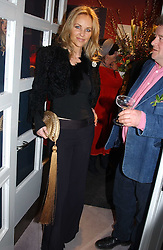 SABINA MACTAGGART at a party hosted American House and Garden magazine with Tomasz Starzewski and Nina Campbell to celebrate the British Issue of the magazine, held at 14 Stanhope Mews West, London SW7 on 13th March 2005.<br />