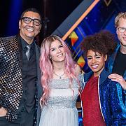 NLD/Baarn/20180410 - 2018 finale 'It Takes 2, Jorgen Raymann, Dionne Slagter, Eva Cleven en Leo Alkemade