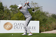 Adrian Meronk (POL) on the 2nd during the Pro-Am of the Commercial Bank Qatar Masters 2020 at the Education City Golf Club, Doha, Qatar . 04/03/2020<br /> Picture: Golffile | Thos Caffrey<br /> <br /> <br /> All photo usage must carry mandatory copyright credit (© Golffile | Thos Caffrey)