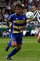 Parma 18/4/2004 Campionato Italiano Serie A <br />30a Giornata - Matchday 30 <br />Parma Juventus 2-2 <br />Alberto Gilardino (Parma)<br /> Foto Graffiti
