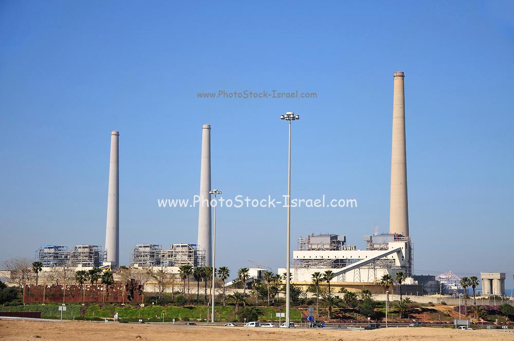 Israel, Hadera, The Hadera coal operated power plant