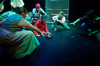 Dress rehearsal for Batboy the Musical at St Paul's School.  Karen Bobotas Photographer