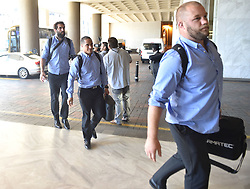 South Africa: Johannesburg: All Blacks players arrive at the InterContinental Johannesburg Sandton Towers hotel, the All Blacks will play the springboks at Loftus Versfeld in Pretoria over the weekend. Gauteng.<br />700<br />01.20.2018<br />Picture: Itumeleng English/African News Agency (ANA)