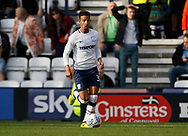 Callum Robinson of Preston North End during the EFL Sky Bet Championship match between Preston North End and Millwall at Deepdale, Preston, England on 23 September 2017. Photo by Paul Thompson.