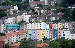 © Licensed to London News Pictures. File pic 12/08/2011. Bristol, UK.  British house prices are rising at their fastest pace in seven years, according to an industry survey. Pictured - An aerial view of properties in Bristol, South West England. Photo credit : Ben Cawthra/LNP