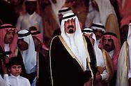 King Abdullah bin Abdul-Aziz Al Saud, Custodian of the Two Holy Mosques, King of Saudi Arabia. King Abdullah cherishes the desert and has high regard for Bedouin traditions.