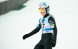 Julia Kykkaenen of Finland during 2nd Round at Day 1 of World Cup Ski Jumping Ladies Ljubno 2019, on February 8, 2019 in Ljubno ob Savinji, Slovenia. Photo by Matic Ritonja / Sportida