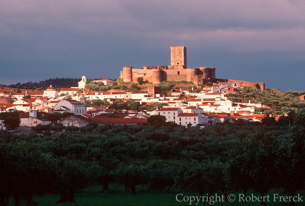 PORTUGAL, ALENTEJO AREA Portel, medieval town and 13thC castle