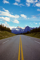 View Of Road And Mountains