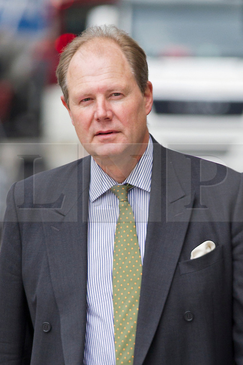 © Licensed to London News Pictures. 03/10/2012. LONDON, UK. Frontline Club founder Vaughan Smith is seen outside Westminster Magistrates Court in London today (03/10/12). Mr Smith was in court with others in an attempt to recover the GB£140,000 in bail money lost when Wikileaks founder Julain Assange breached his bail  conditions and fled to the Ecuadorian Embassy.  Photo credit: Matt Cetti-Roberts/LNP