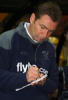 Photo: Paul Thomas.<br /> Port Vale v Norwich City. Carling Cup. 24/10/2006.<br /> <br /> Peter Grant, Norwich manager.