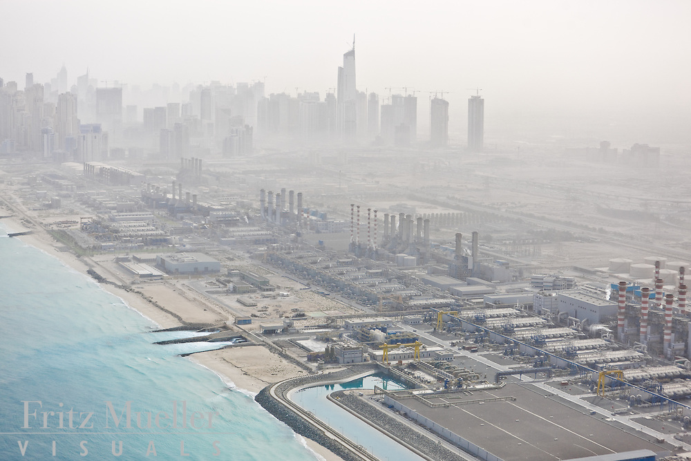 As of 2009, about 70%  of the UAE's water (24 million cu. metres/day) comes from desalination plants, and Dubai alone has an installed desalination capacity of 188 MIGD (million gallons per day) with a total production of 58.8 MIGD - consumption increased from 49 MIGD in 2003.