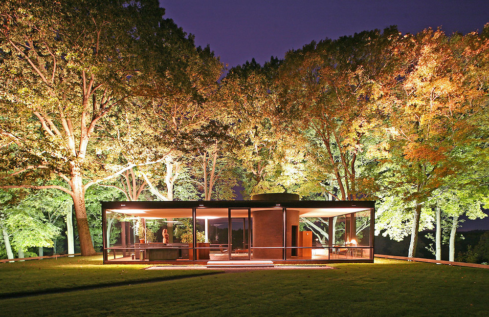 Glass House Architect Philip Johnson 1949