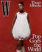 August 25, 2021 - USA: Thuso Mbedu Covers W Magazine Pop Issue
